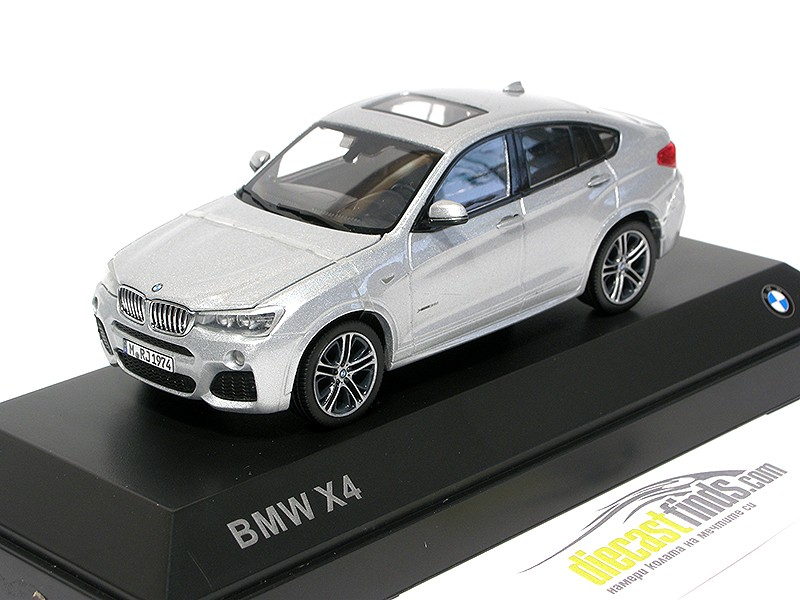 BMW X4 (F26) Silver
