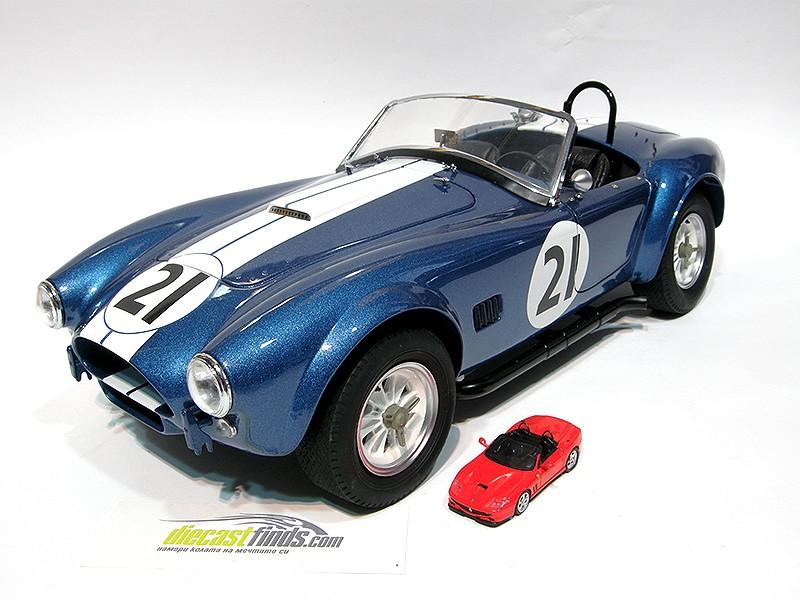 Shelby AC Cobra #21 Blue Metallic