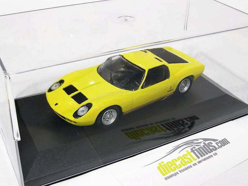 Lamborghini Miura Yellow