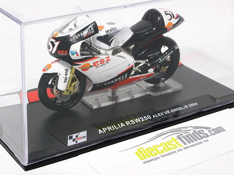 Aprilia RSW 250 Alex De Angelis 2004