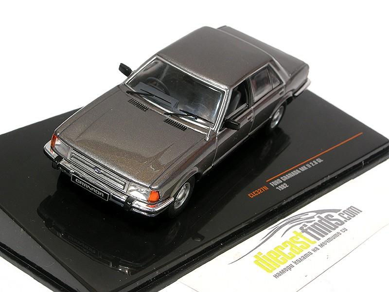 Ford Granada MK II 2.8 GL 1982 Grey Metallic