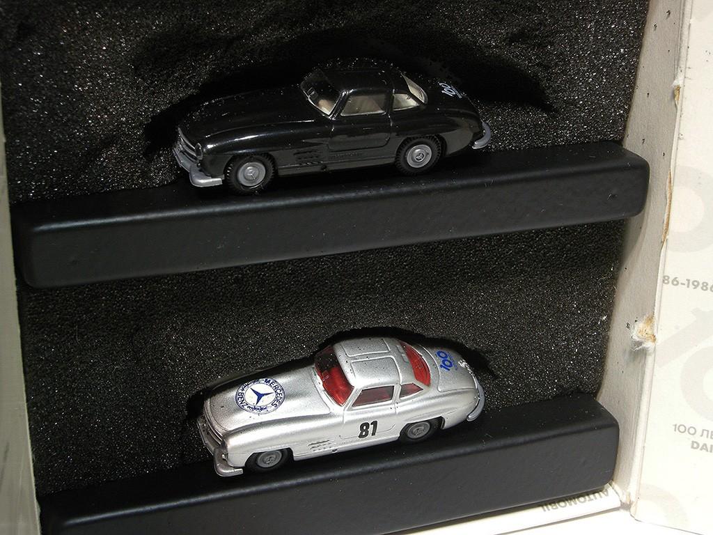 Mercedes-Benz 2 cars 300 SL SET