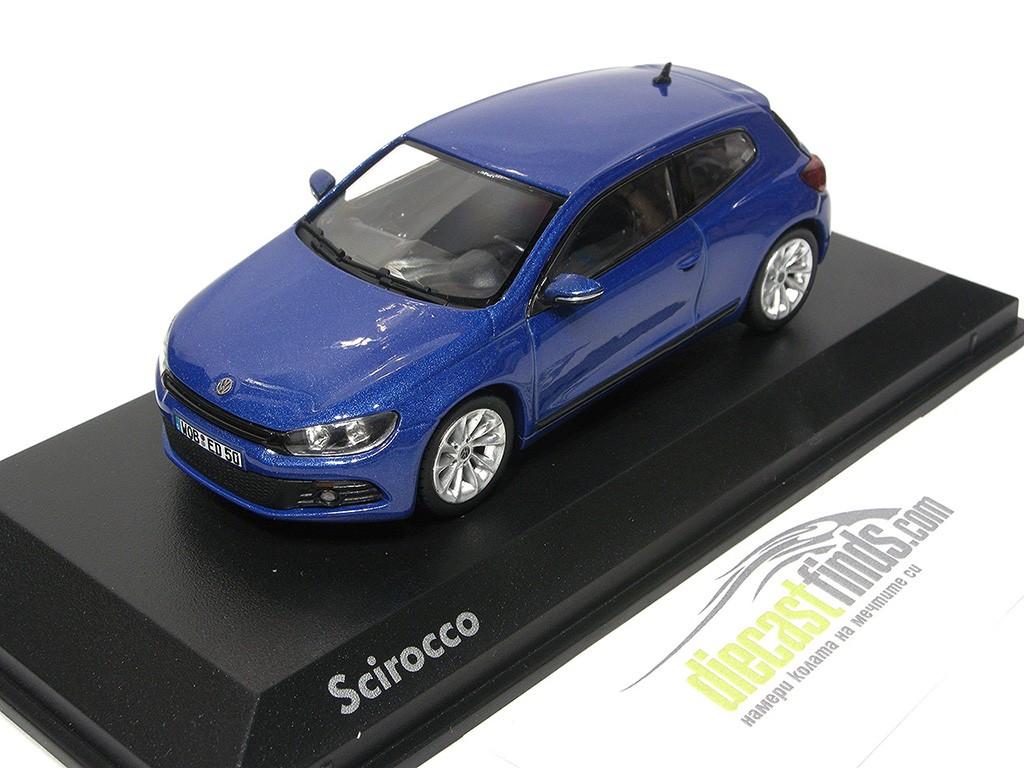 VW Volkswagen Scirocco III Blue Met.