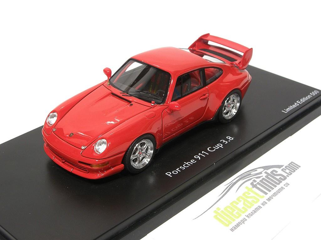 Porsche 911 (993) Cup 3.8 Red