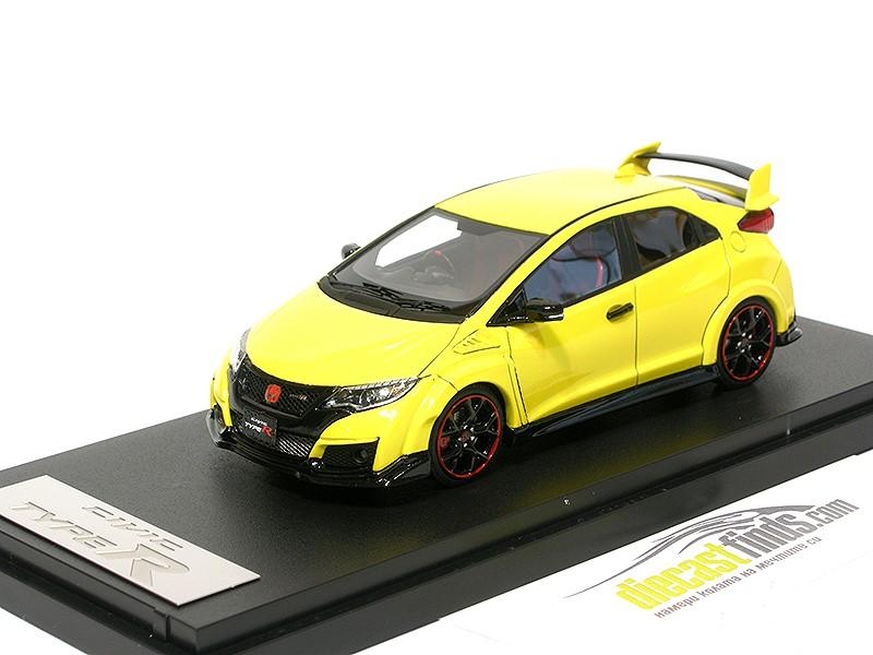 Honda Civic Type R FK2 Sunlight Yellow