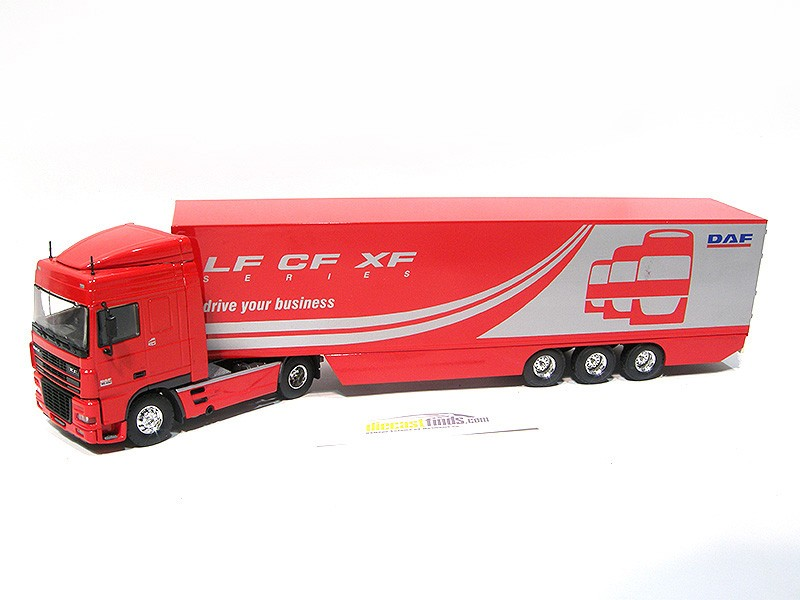 DAF XF 95.430 with trailer