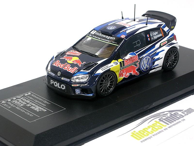 VW Volkswagen Polo R WRC S. Ogier 2015 Monte Carlo