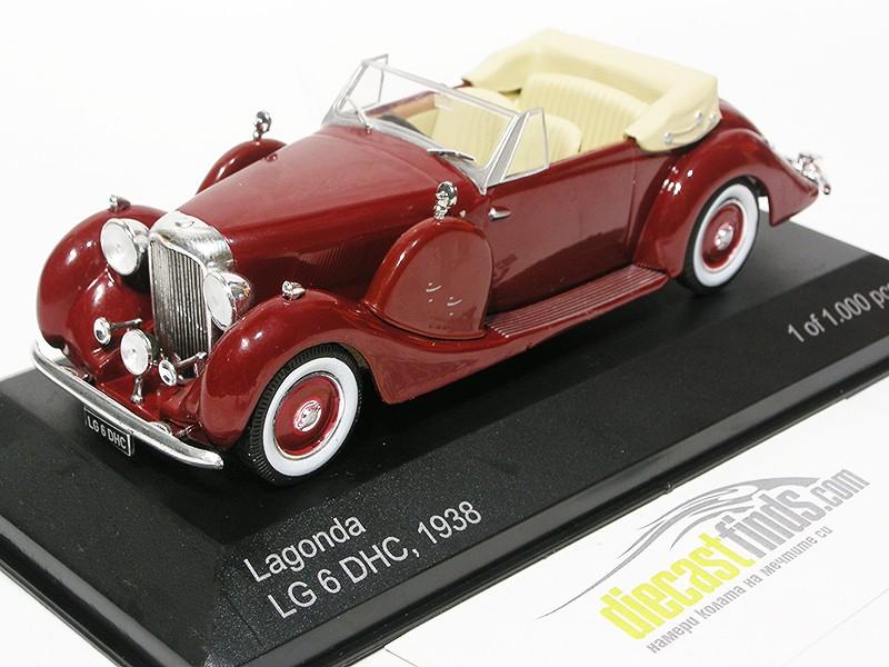 Lagonda LG6 DHC 1938