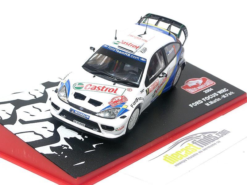 Ford Focus WRC M. Martin 2004 Monte Carlo
