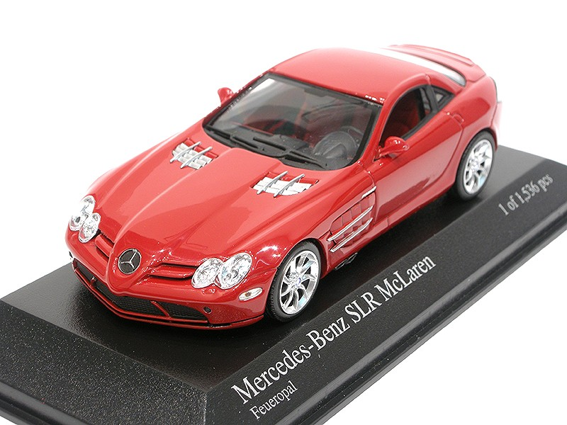 Mercedes-Benz SLR McLaren Coupe Red
