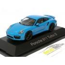 Porsche 911 (991 II) Turbo S Blue