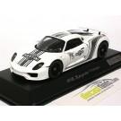 Porsche 918 Spyder Martini Prototype White