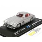 Mercedes-Benz 300SL Coupe 1955 Silver Metallic