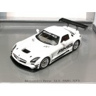 Mercedes-Benz SLS AMG GT3 White