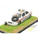 Диорама Peugeot 406 Police