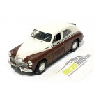 '46 GAZ M20 Pobeda White/Brown