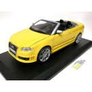 Audi RS4 B7 Cabriolet Yellow