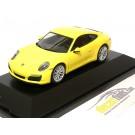 Porsche 911 (991 II) 4S Coupe Facelift 2015 Yellow