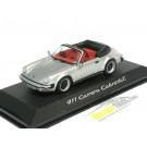 Porsche 911 (964) 1983 Carrera Cabriolet Silver Metallic