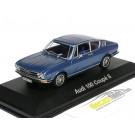 Audi 100 C1 1.9L I4 Coupe S 1969 Blue Metallic