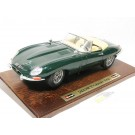 Jaguar E-Type Cabriolet 1961 Green